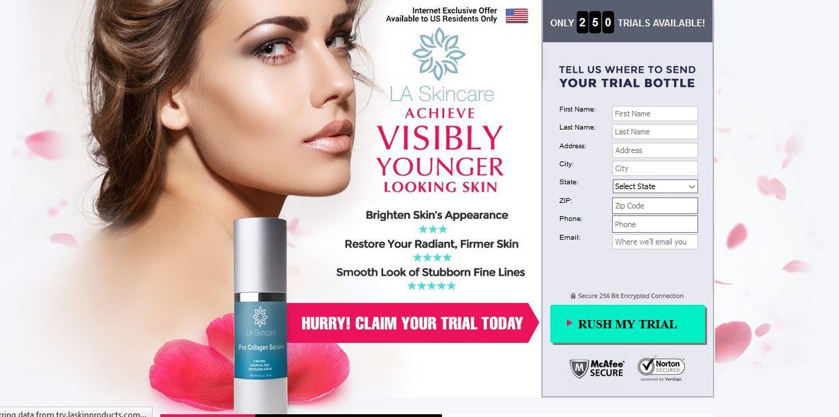 La Skincare Serum Offer