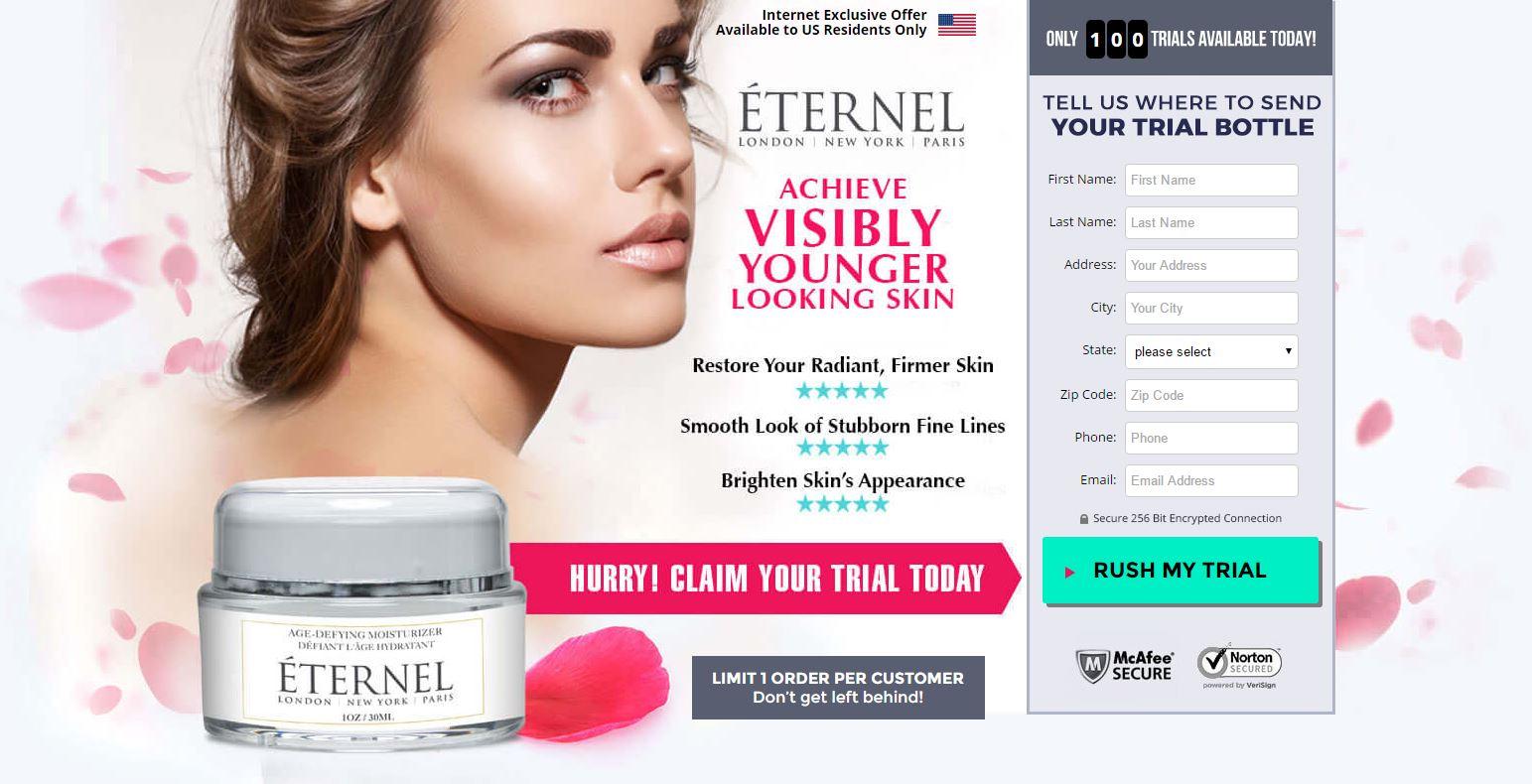 Eternel Anti Aging Cream Offer