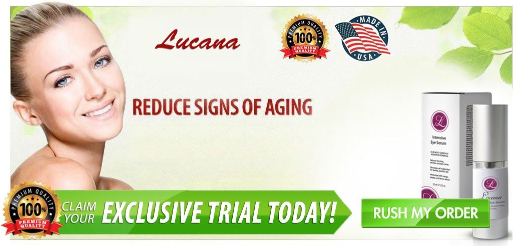 Lucana Eye Serum Offer