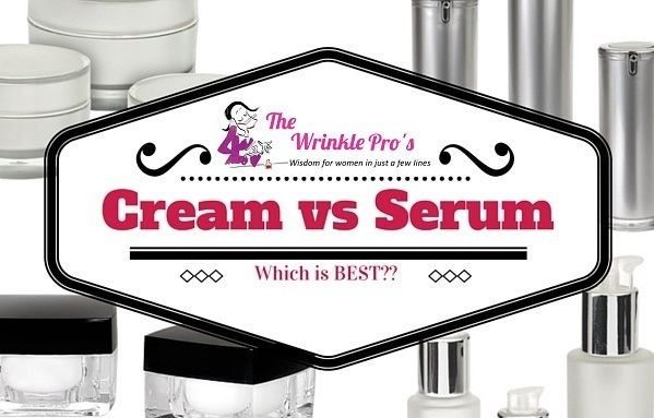 Cream vs. Serum