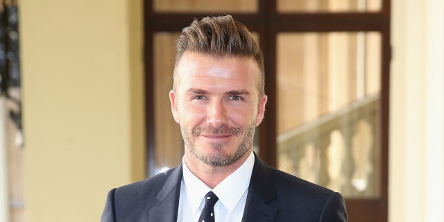David Beckham is Releasing a New Skincare Line