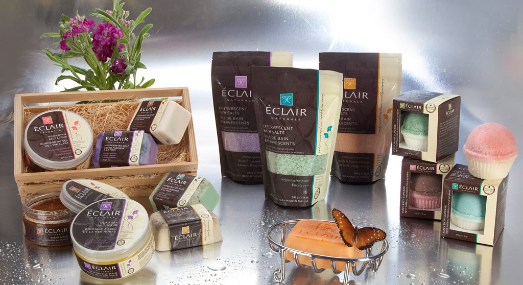 Eclair Gluten Free Skincare Products
