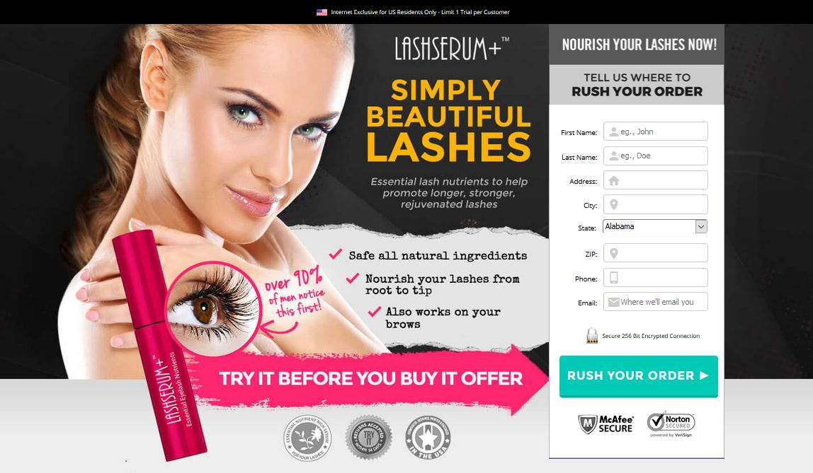 Lash Serum Plus Exclusive Offer